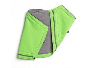 Liliputi těhotenská vložka do kabátu zelená