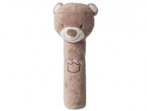 Hračka pískací Cri-Cri medvídek Tom 0m+