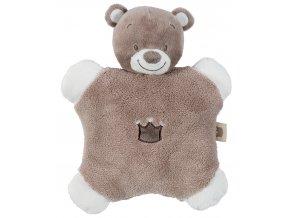 Chrastítko polštářek medvídek Tom