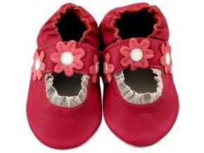 MiniFeet capáčky sandálky sedmikrásky růžové