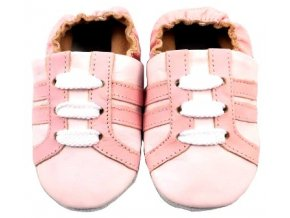 MiniFeet capáčky tenisky růžové