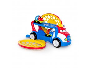 Hračka tahač Grumpy + 2 autíčka Dave a Danny Oball Go Grippers 18m+