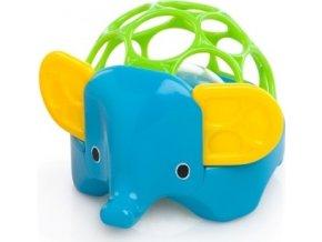 Hračka OBALL zvířátko 3m+, slon