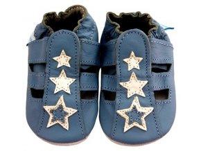 MiniFeet capáčky sandálky modré