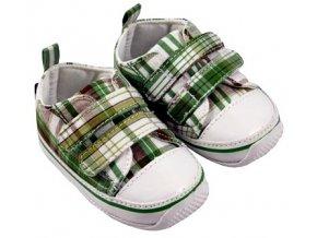 MiniFeet dětské tenisky zelené
