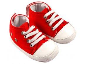 MiniFeet dětské tenisky červené