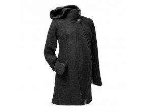 Mamalila zimní vlněný kabát černý