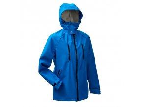 Mamalila pánská outdorová bunda na nošení dětí pro tatínky modrá