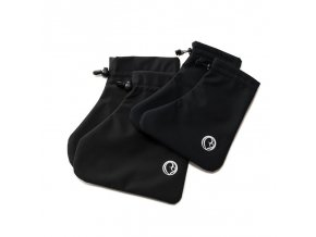 Mamalila softshell návleky na dětské boty černé
