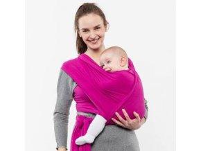 Liliputi elastický šátek růžový