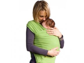 Liliputi elastický šátek zelený