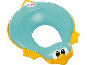 Redukce na WC Ducka tyrkysová