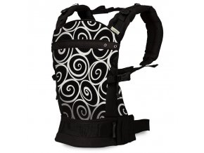 Liliputi ergonomické nosítko Elegance černé
