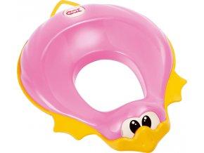 Redukce na WC Ducka ružová 66