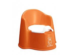 BabyBjörn Nočník křesílko Potty Chair Orange oranžový