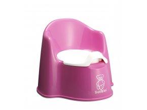BabyBjörn Nočník křesílko Pink růžový
