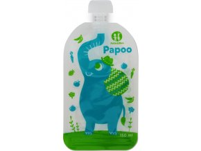 Kapsička na jídlo Papoo Slon 6ks Petite&Mars