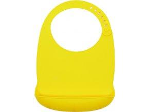 Bryndák silikonový Sam žlutý Petite&Mars