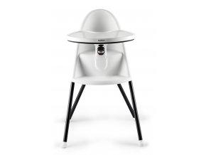 Židle vysoká BabyBjörn s pultíkem bílá
