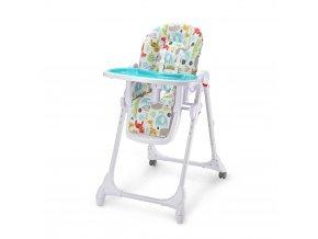 Židlička jídelní Zola modrá Petite&Mars
