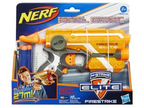 NERF Elite s červeným zaměřovacím paprskem