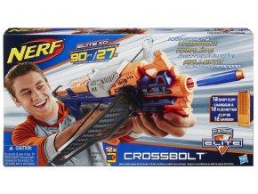 NERF Elite Crossbolt kuše se zásobníkem  + 10 šipek navíc zdarma