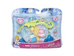 Disney Princess mini hrací set s panenkou Popelka