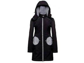 Liliputi kabát 3v1 na nošení dětí černý