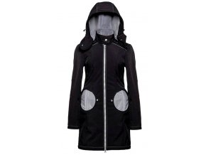 Liliputi kabát na nošení dětí černý