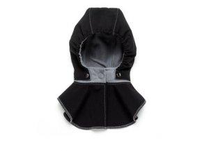 Liliputi dětská kapuce ke kabátu černá