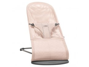 babybjorn bliss mesh lehatko powder pink