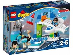 LEGO DUPLO 10826 Milesův hangár pro jeho vesmírnou loď Stellu