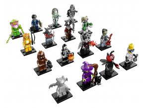 LEGO Minifigures 71010 Minifigurky, 14. série: Příšery