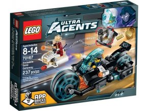 LEGO Ultra Agents 70167 Invizable utíká se zlatem