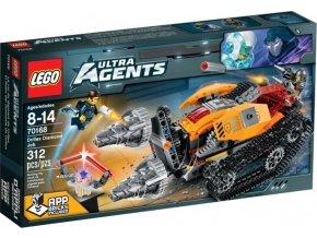 LEGO Ultra Agents 70168 Drillex krade diamant