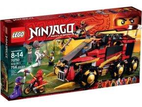 LEGO Ninjago 70750 Nindža DB X