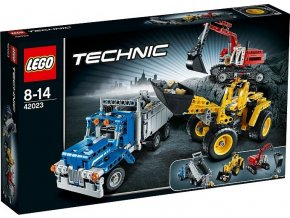 LEGO Technic 42023 Stavbaři