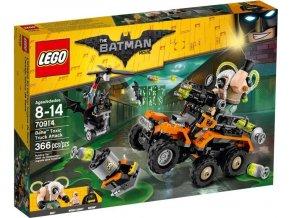 LEGO Batman Movie 70914 Bane a útok s náklaďákem plným jedů