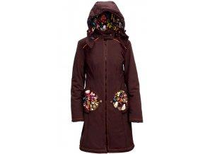 Liliputi kabát 4v1 na nošení dětí Bajka hnědý