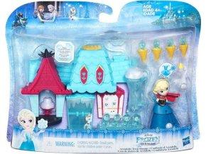 Frozen Hrací sada pro malé panenky Arendelle Treat Shoppe