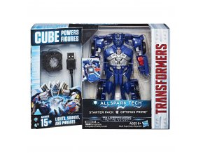Transformers Poslední rytíř Interaktivní figurka s Prajiskrou Optimus Prime