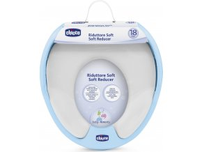 Adaptér na WC Soft - modrý