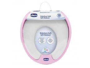 Adaptér na WC Soft - růžový