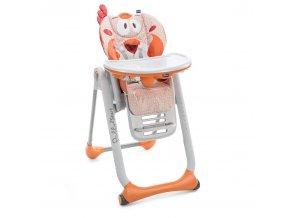 Židlička jídelní Polly 2 Start - FANCY CHICKEN