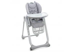 Židlička jídelní Polly 2 Start - HAPPY SILVER