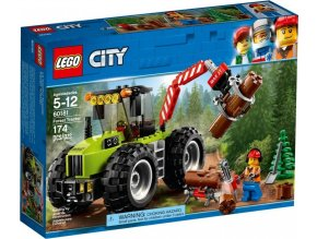 LEGO City 60181 Traktor do lesa