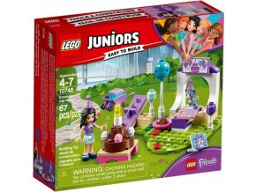LEGO Juniors 10748 Emma a oslava pro mazlíčky