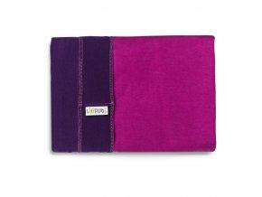 LLPT813 liliputi elasticky satek purple fuchsia noseni deti satek na noseni deti