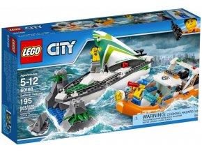 LEGO City 60168 Záchrana posádky plachetnice