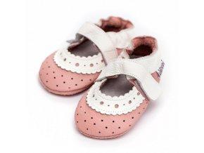 LLPT845 capacky liliputi sandalky liliputi baby rose kozene capacky boty pro deti backurky
